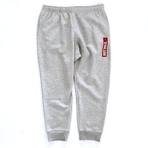 NIKE Men's Gray Just Do It Jogger Pants XXL NWT